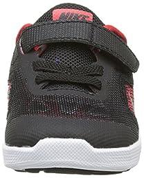 Nike Kids\' Revolution 3 Running Shoe (TDV), University Red/Metallic Silver/Black, 8 M US Toddler