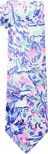 Lilly Pulitzer  Men's Men's Tie Multi Cabana Cocktail Mens One (Lilly Pulitzer Tie)
