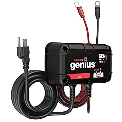 NOCO Genius GEN1 10 Amp 1-Bank Waterproof Smart On-Board Battery Charger