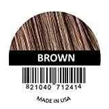 BROWN Samson Hair Fiber Refill 100 GRAMS For Hair Loss Concealing Suitable for all brands (BROWN COLOR)