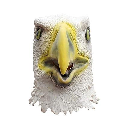 FENICAL 1 Pieza Halloween máscara Fancy Loción Vestido Fiesta Requisiten Águila Tocado de Protectora para Hombres