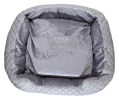 Puppy Angel Original Quattro Bed Hundebett, Grau Größe L