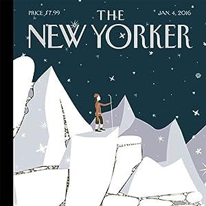 The New Yorker, January 4th 2016 (Dexter Filkins, Larissa MacFarquhar, Adam Gopnik) Periodical