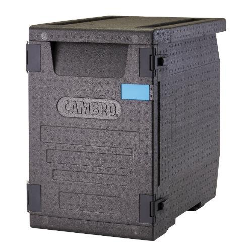 Cambro EPP400110 Insulated Food Carrier, Black
