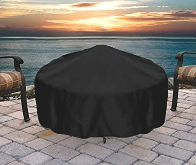Sunnydaze Round Outdoor Fire Pit Cover