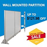 [Christmas Special] GOF Office Freestanding Partition Room divider Wall divider Wall panel Office Wall (Wallmounted 84w x 72h)