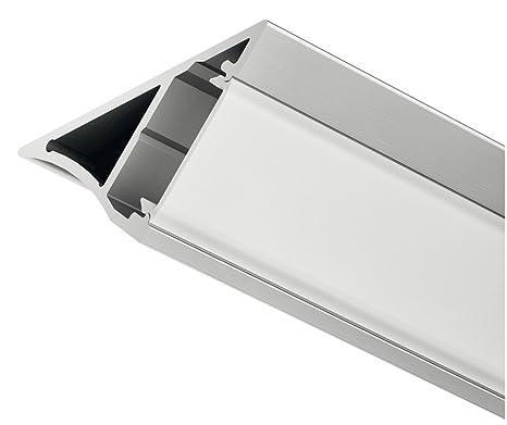 Gut gemocht Gedotec LED-Aluminium-Profil 1000 mm Unterbauprofil Eck LM53