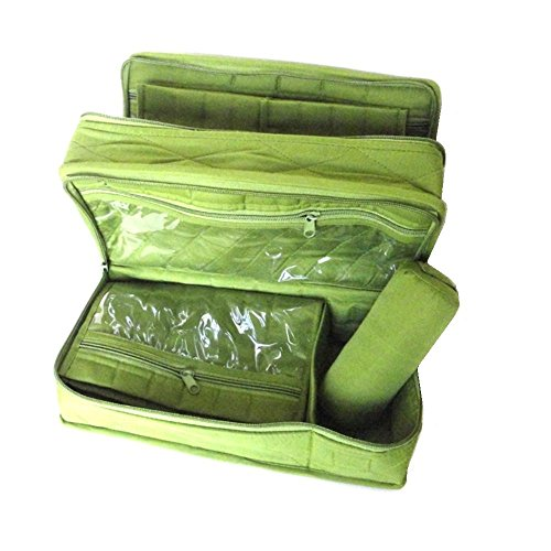 Yazzii Deluxe Craft Storage Organizer CA 610, Green by Yazzii