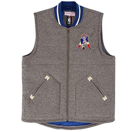 Top 1 mitchell and ness patriots vest for 2020
