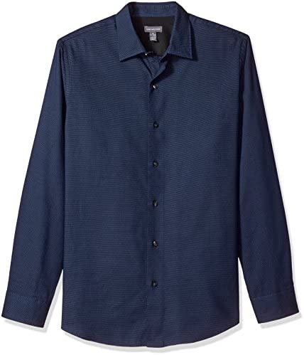 Van Heusen de los hombres impreso de manga larga camisa