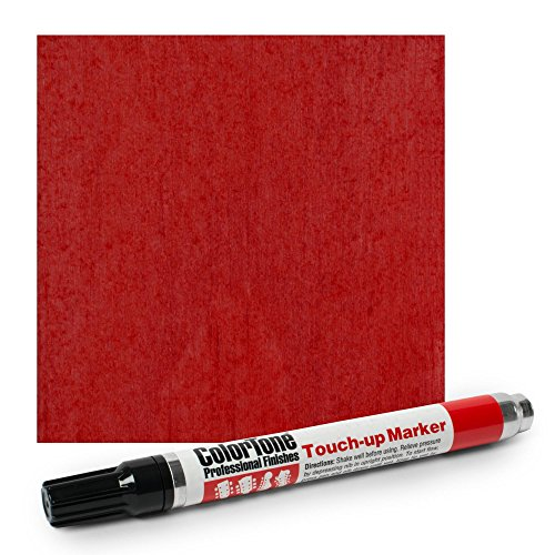 Colortone Touch-up Marker, Cherry Red Tinted Lacquer