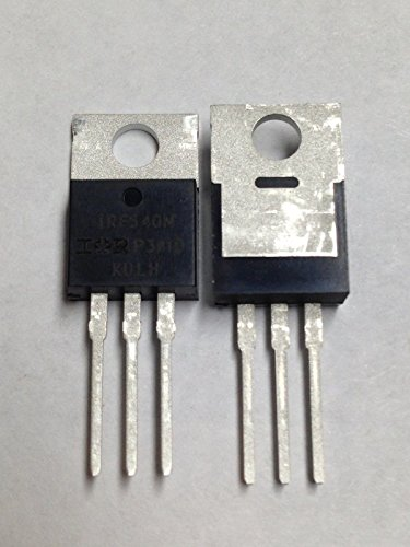 IRF540N IRF540 IR MOSFET N-Channel 33A 100V 2 pcs with Heatsink compounds