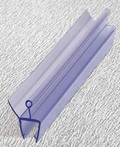 Duschdichtung 200cm Wasserabweiser Ersatzdichtung Duschprofil Duschtür Dichtung Lippe