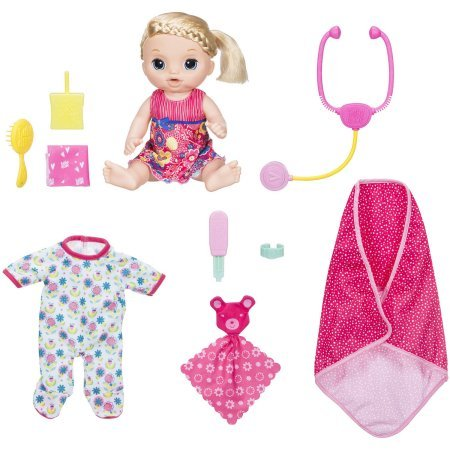 Baby Alive Sweet Tears Baby, Blonde Exclusive Value Pack (Exclusive Sweet)