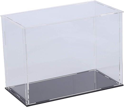 DOITOOL 1pc Cajas de exhibición de acrílico Transparente ...