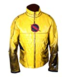 Flesh & Hide F&H Boy's Reverse Flash Eobard Thawne Zoom Yellow Lightning Jacket L Yellow