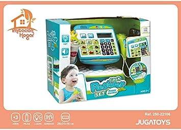 Jugatoys Caja Registradora Tactil con Sonidos, Luz, Cesta con ...