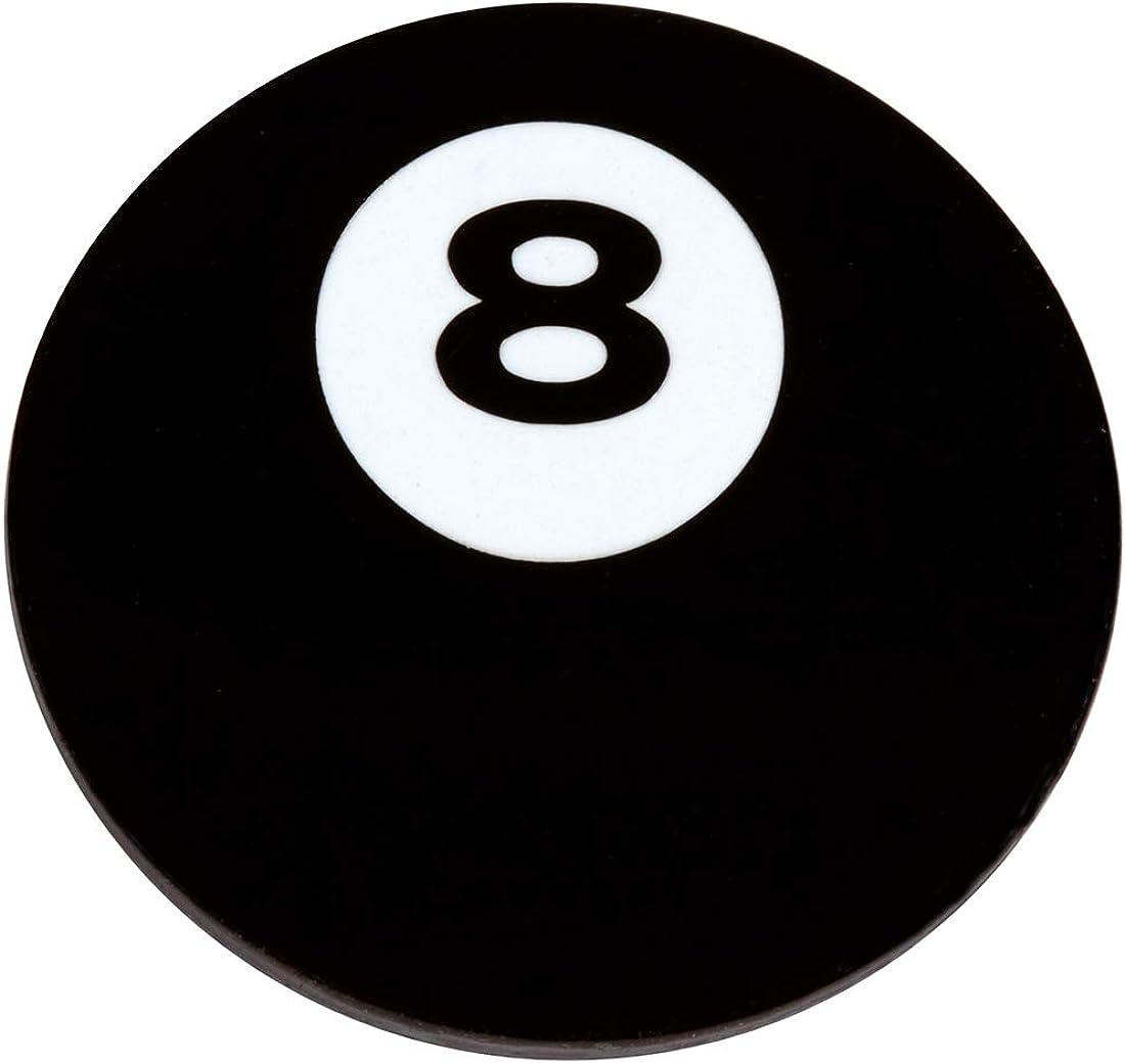 PinAddict Eight Ball Symbol Lapel Pin Tie Tack Black 8 Billiards Pool Emblem