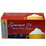 Gourmet N2O Whipped Cream Chargers, 144 Count