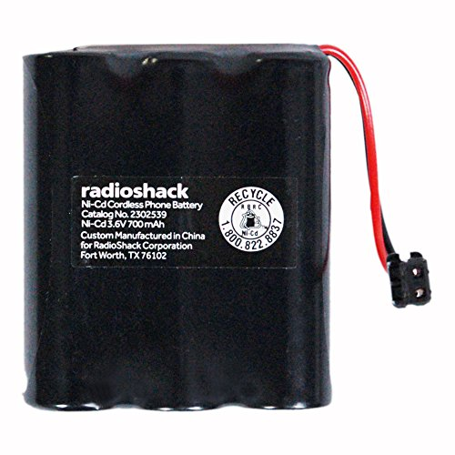 (RadioShack 3.6V/700mAh Cordless Phone Battery for VTech (2302539))