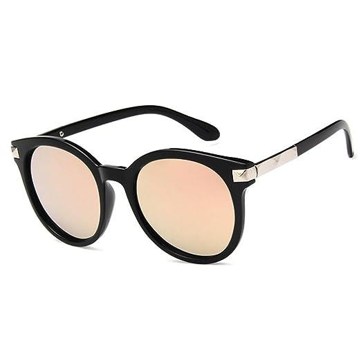Gafas de Sol Elegantes y Vintage, con Bolsa de Gafas Negra y ...