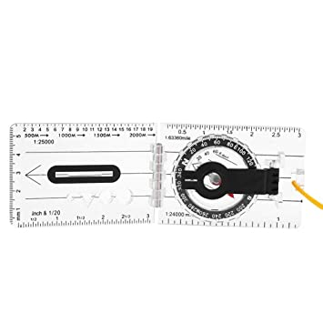 Map Of Canada Distance Calculator.Foldable Map Ruler Compass Multifunctionwith Map Measurer Distance