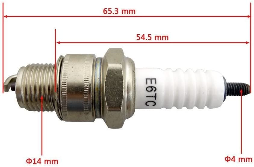 80CC 60CC 49CC Motor Engine Motorized Bicycle bike high performance Spark Plug
