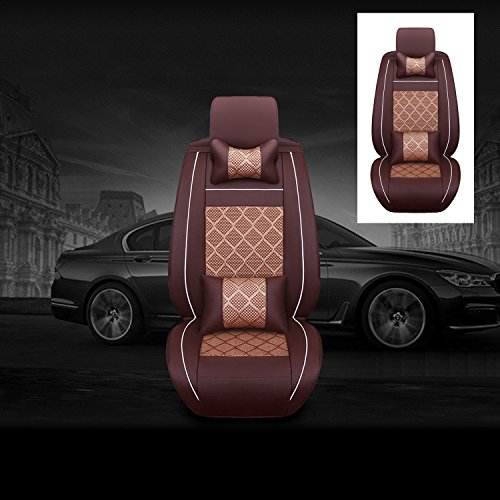 11pcs universal full surrounded car front rear seat covers auto 5 seats cover set car interior. Black Bedroom Furniture Sets. Home Design Ideas