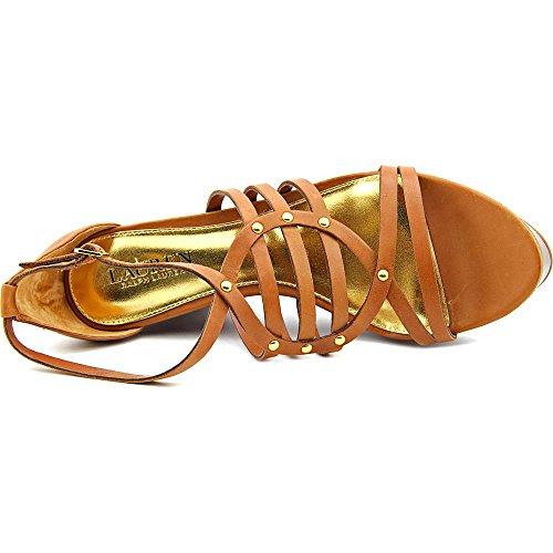 Lauren Lauren Raegan Ralph Tan Sandal Platform Polo r6prOqwH