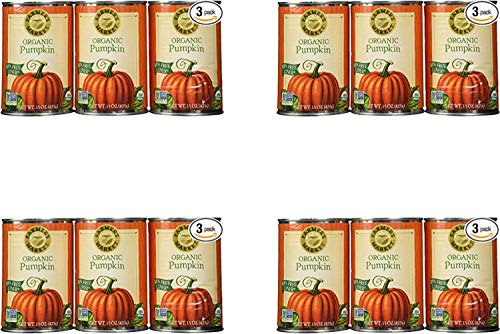 Farmers Market Pumpkin Puree 100% Organic 3 Count-15oz (4 Pack) by Farmers Market (Image #1)