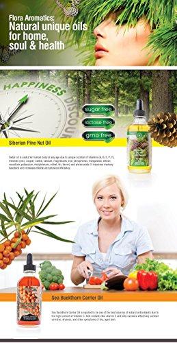 Premium Cold Pressed Siberian Pine Nut Oil 1 fl oz/30 ml