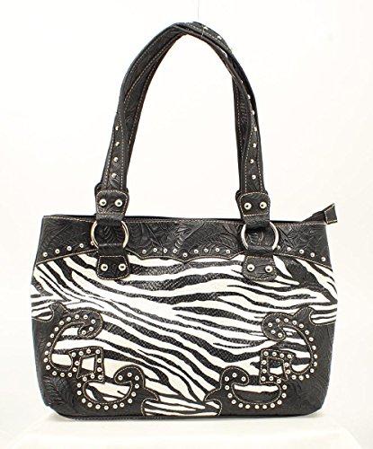 Blazin Roxx Womens Zebra Shoulder product image