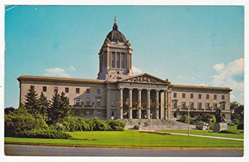 Manitoba Legislative Building, Winnipeg Vintage Original Postcard #0095 - October 11, ()