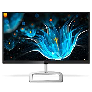 "Philips 276E9QDSB 27"" Frameless Monitor, Full HD 1920x1080 IPS, 124% sRGB & 93% NTSC, FreeSync, HDMI/DVI-D/VGA, VESA"