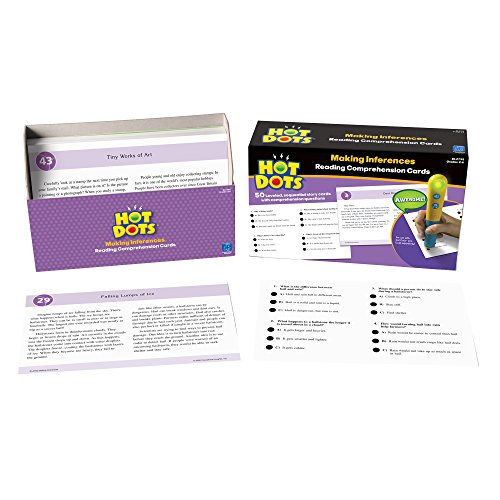 Amazon.com : Educational Insights Hot Dots Reading Comprehension ...