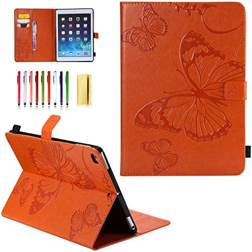 UUcovers Embossed Butterfly Leather 2018 Orange
