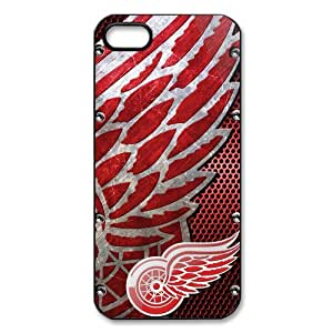 New Gift Detroit Red Wings Durable Case for Iphone 5 5S Snap On