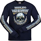 Harley-Davidson Military - Men's Navy Long-Sleeve