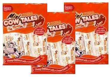 Goetze's Mini Vanilla Cow Tales, 4 Ounce Bag