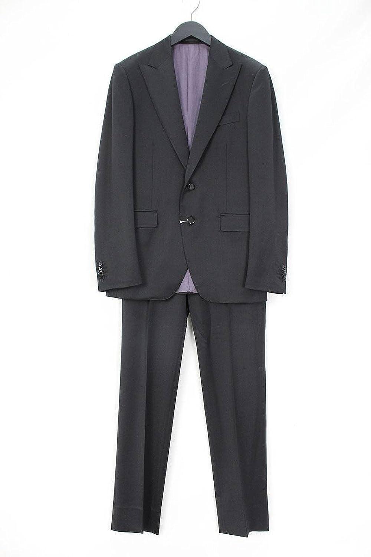 (ボリオリ) BOGLIOLI 【962G2S】ピークドラペル2Bスーツ(46/ブラック) 中古 B07FMRXDJL  -