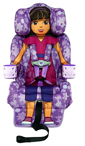 Princess Booster - KidsEmbrace 2-in-1 Harness Booster Car Seat, Nickelodeon Dora the Explorer