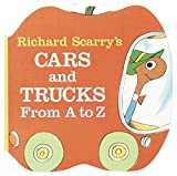 img - for Richard Scarry's Cars and Trucks from A to Z (A Chunky Book(R)) book / textbook / text book