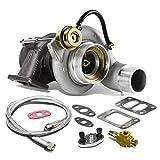 Dodge Ram 6BT 5.9L HY35W T3 Twinscroll Turbocharger w/Int...