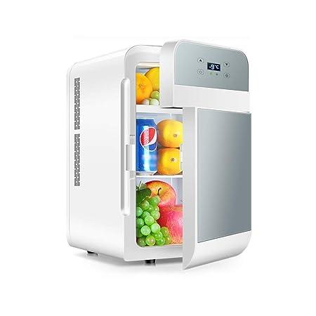 WYNZYYX Refrigerador Refrigerador De Doble Núcleo Mini Dormitorio ...