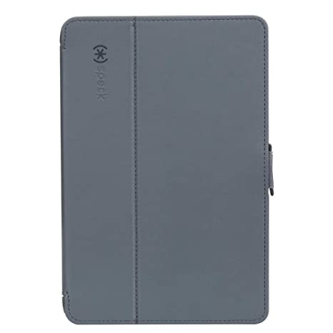 huge selection of f8a86 1aad8 Speck Products 90912-5999 StyleFolio Case and Stand for iPad mini 4, Stormy  Grey/Charcoal Grey,