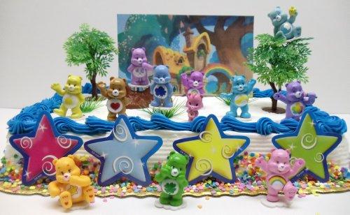 Excellent Care Bears 20 Piece Birthday Cake Topper Set Featuring Tenderheart Birthday Cards Printable Benkemecafe Filternl