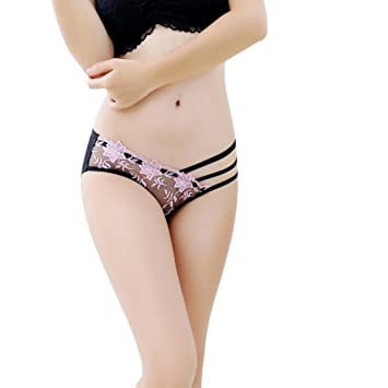 a3facb1dc2c Amazon.com: Lightning Deals Lace G-String,ZYooh Women Sexy Super Thin  Hollow Thongs Temptation Breathable Lingerie (Pink, Free Size): Baby