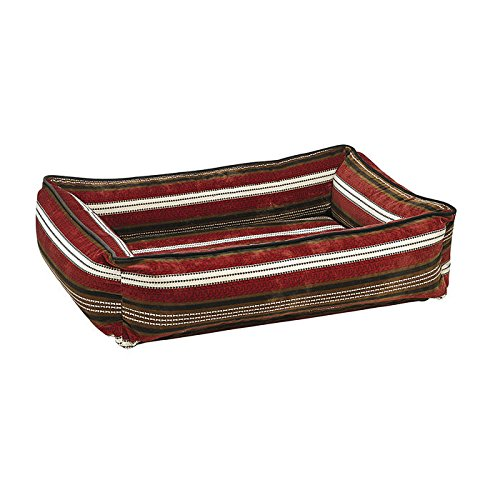 Urban Lounger in Bowser Stripe (Medium: 34 in. L x 23 in. W x 9 in. H) by Bowsers