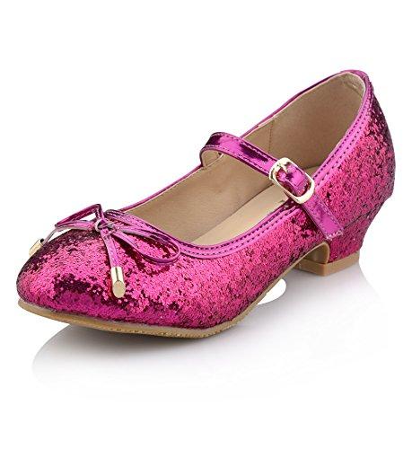- Nova Utopia Girls Low-Medium Platform Sandal Shoes NF Utopia Girl NFGF059H Fuchsia 4