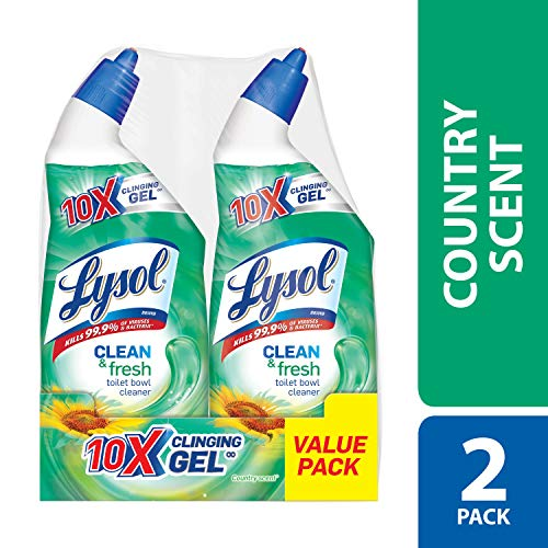 Lysol Power & Fresh Toilet Bowl Cleaner, Country Scent, 48oz ()